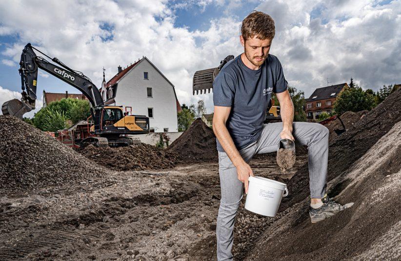 baubegleitende Boden- und Mineralstoffprüfungen