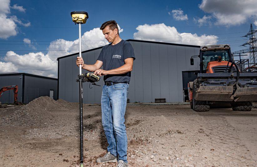 Bauvermessungen und Bauüberwachung